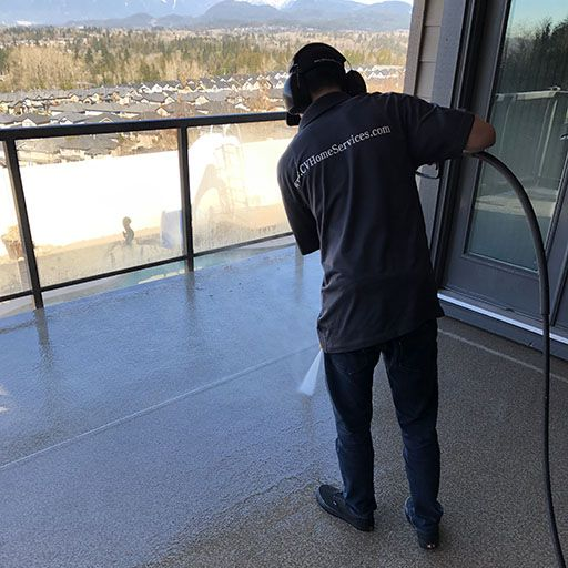 pressure washing in burnaby