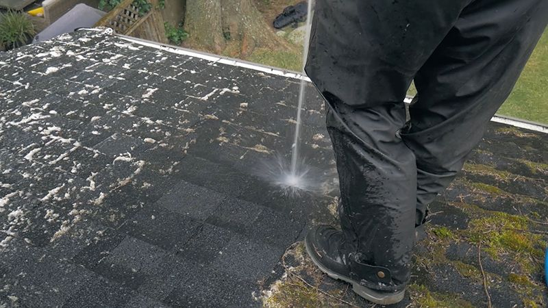 roof washing in burnaby