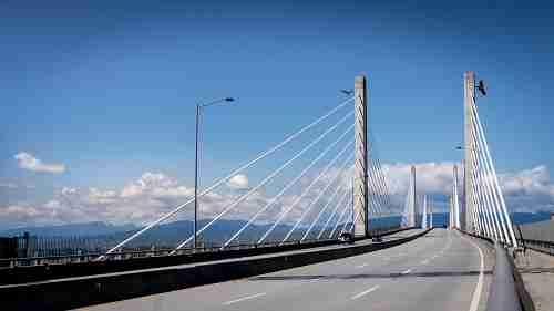 Golden Ears Bridge in Maple Ridge