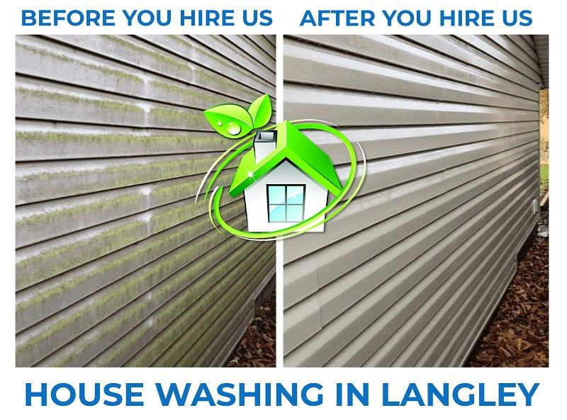 house washing in langley
