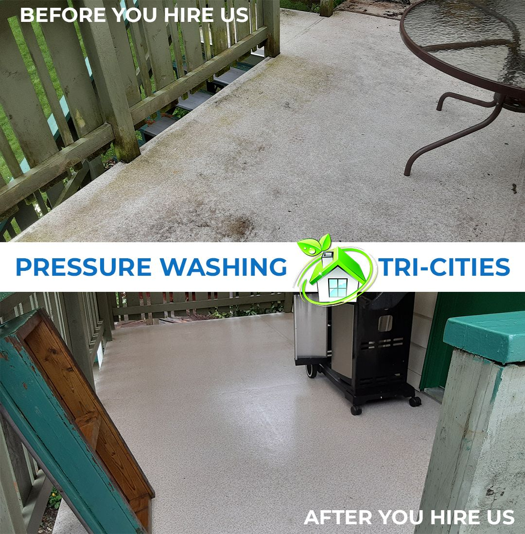 pressure washing in tri-cities